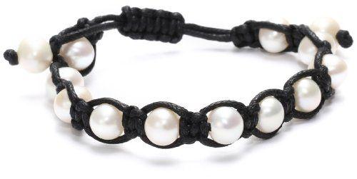 Bella Pearl Leatherette Pearl Bracelet