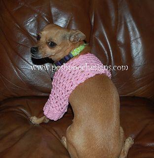 ROFL ... dog shrug crochet pattern @ Ravelry  FREE