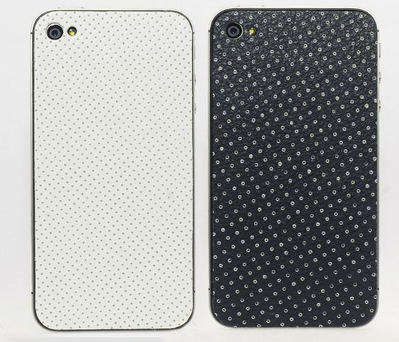 Dotty leather iPhone cases