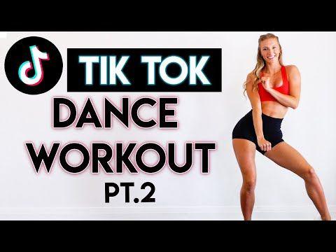 15 Min Tiktok Dance Party Workout Pt 2 Full Body No Equipment Youtube Cardio Workout Video Workout Workout Videos