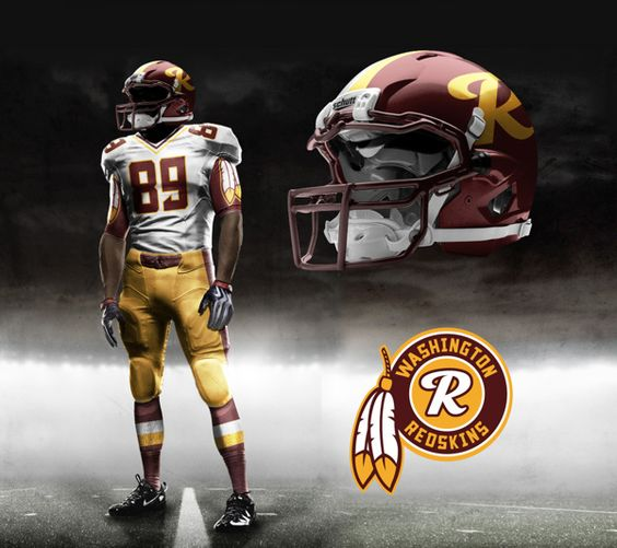 nike air max youtube - Washington Redskins Nike NFL Pro Combat Uniform | Concept Jerseys ...
