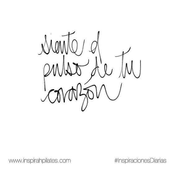 Siente el pulso de tu corazón.  #InspirahcionesDiarias por @CandiaRaquel  Inspirah mueve y crea la realidad que deseas vivir en:  http://ift.tt/1LPkaRs