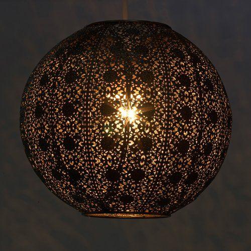 K Living Carnforth 30cm Metal Sphere Lamp Shade Wayfair Co Uk Glass Pendant Shades Metal Lamp Shade