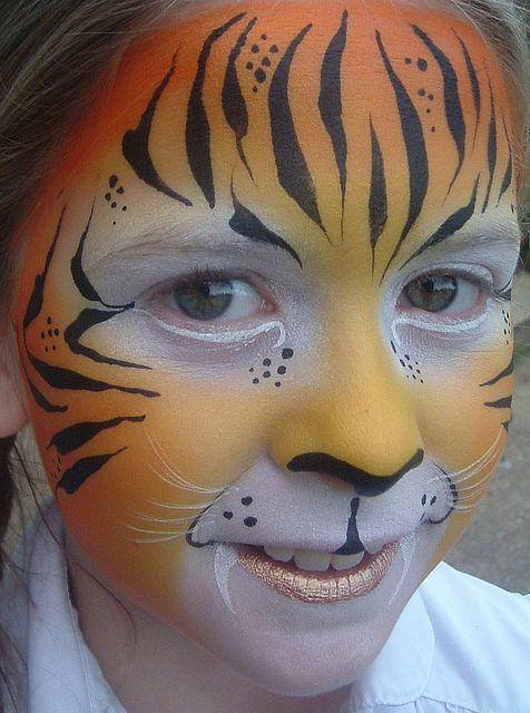 tiger by jennifer parker kaleidoscope face painting. Black Bedroom Furniture Sets. Home Design Ideas