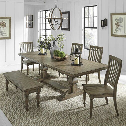 Alcott Hill Zachariah Extendable Dining Table Wayfair Ca Extendable Dining Table Liberty Furniture Dining Table