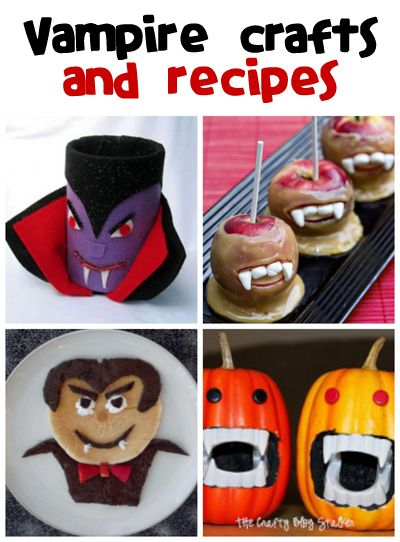 Vampire Crafts  Recipes