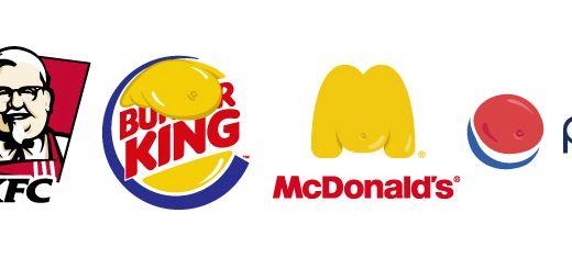 Fette Fastfood Logos