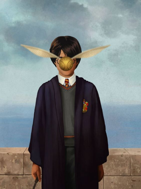 Rene Magritte Inspired Pop Culture Paintings