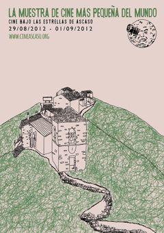 Cartel 1º Muestra Cine Ascaso 2012