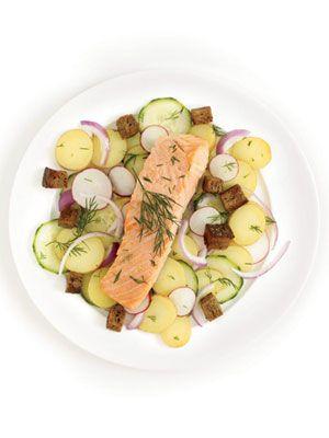 Scandinavian Salmon... I do love my Salmon!!!