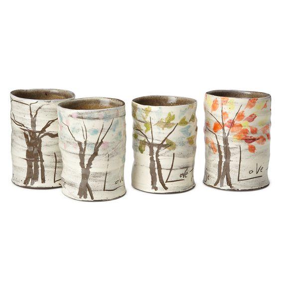 4 seasons mugs