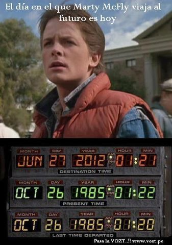 Welcome to the future Marty Mcfly!!!