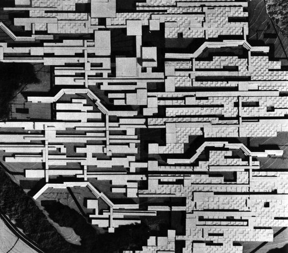 Candilis, Josic, Woods, Bochum University Competition, 1962: