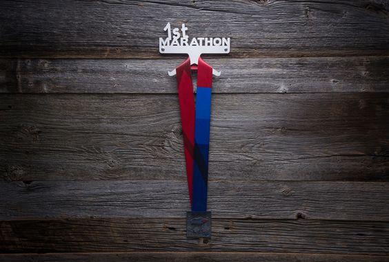 Support à médaille 1st Marathon entièrement fait au Québec!