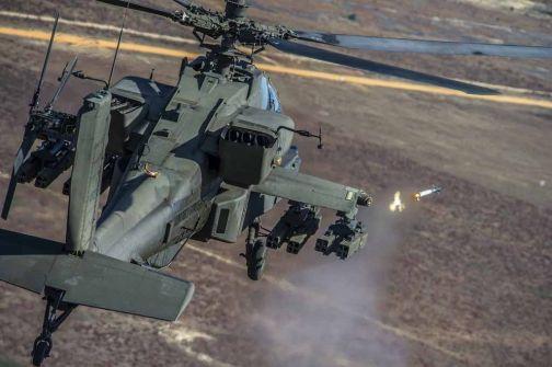 Lockheed Martin DAGR flight test,from Boeing AH - 64 Apache at Eglin AFB. By Jon Hammerstein.