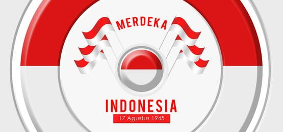 Hut Ri 1945 Indonesia Independence Day Background Spanduk Hari Kemerdekaan Ilustrasi
