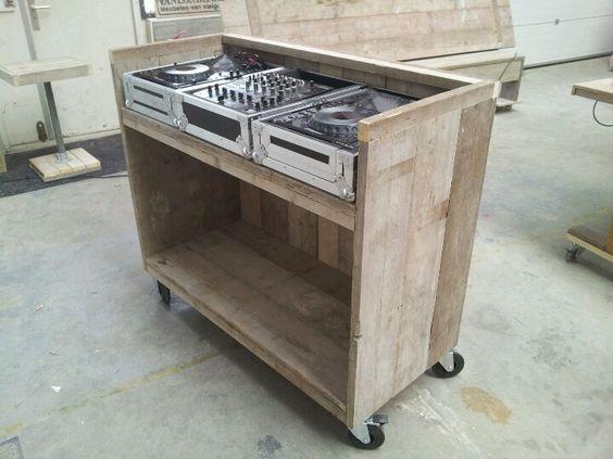 Dj booth op wielen furniture ideas pinterest muebles - Muebles para dj ...