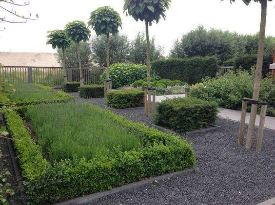 Tuin on pinterest - Eigentijdse tuinfoto ...