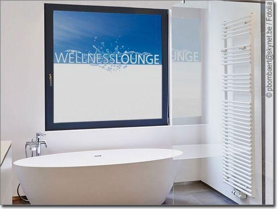 Fensterfolie Und Sichtschutzfolie Fur Bad Massanfertigung Sichtschutzfolie Fenstersichtschutz Massageraum