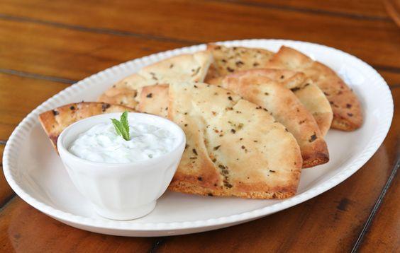 Tzatziki Dip & Pita Crisps