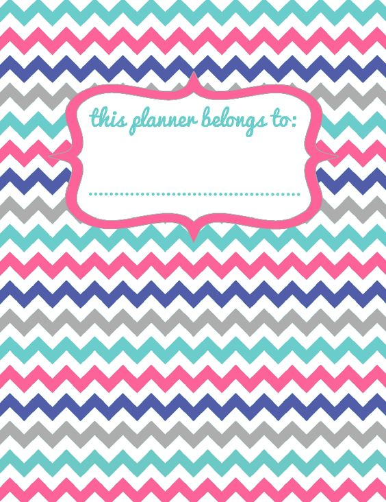 FREE PRINTABLE.  #OrigamiOwl inspired binder/planner cover.  Follow BRENDA STER on FB!  http://www.facebook.com/charmedsuite