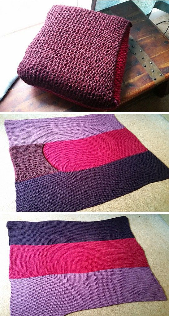 Knitting Pattern Travel Blanket : To be, Cars and Cozy blankets on Pinterest