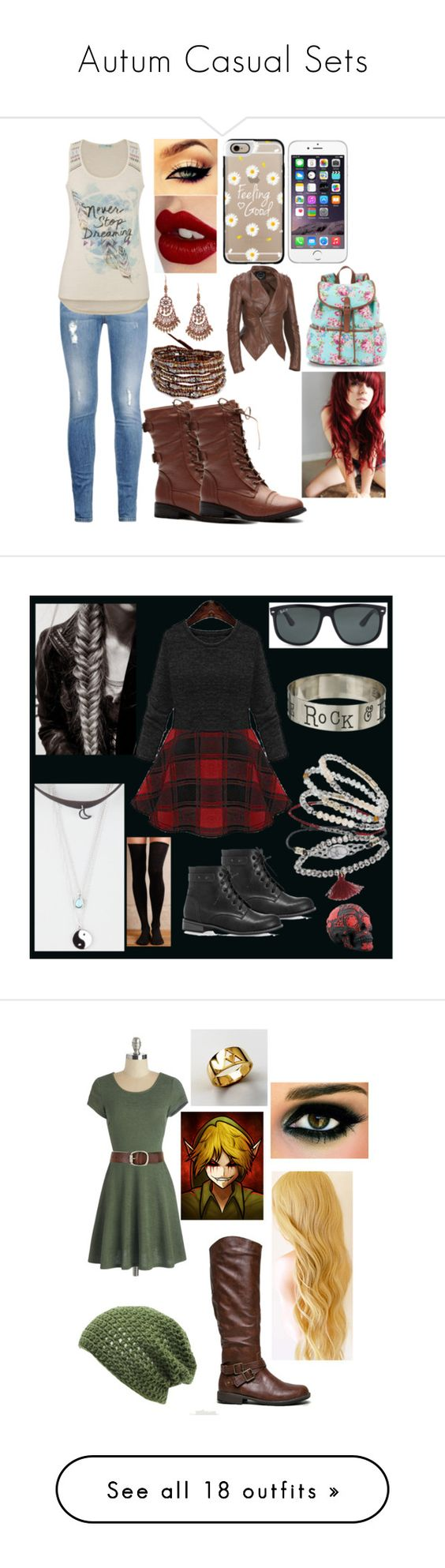 """""""Autum Casual Sets"""" by peacerecipedatabase ❤ liked on Polyvore featuring STELLA McCARTNEY, maurices, Chan Luu, 1928, Charlotte Tilbury, Casetify, Candie's, Jack Black, Hansel from Basel and Avenue"""
