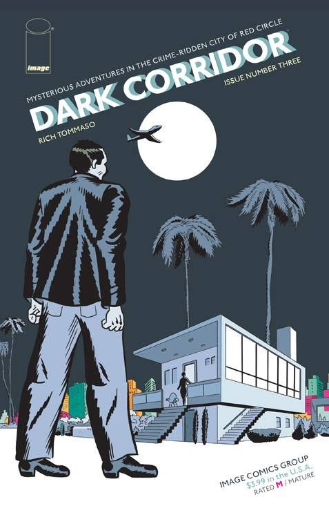 Dark Corridor (2015) Issue #3