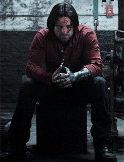 Poor Bucky. I just wanna give you a hug, comfort you and help you so much