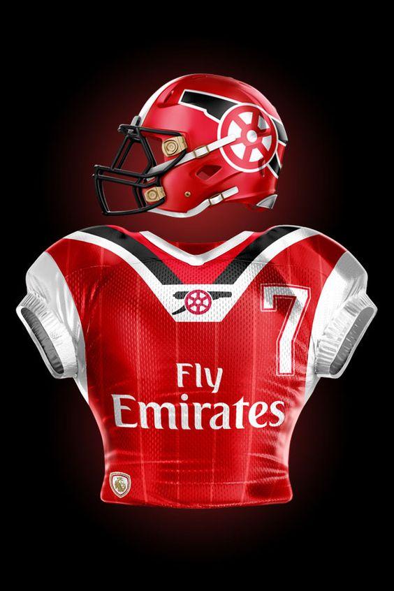 Talisman & Co. | ESPN FC Football Kit Mashups | Arsenal