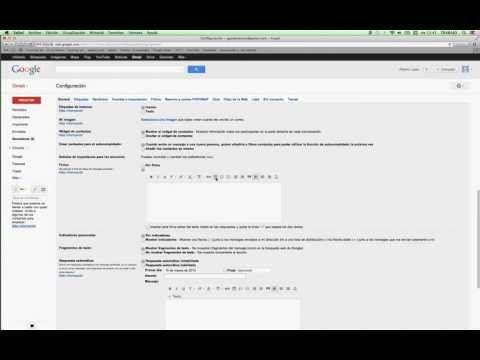 Tutorial Como Crear Firma Para Gmail Youtube Tecnología Educativa Informática Firma