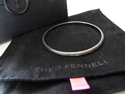 Theo Fennell ALIAS Bracelet WHIP BANGLE Oxidixed Solid Silver RRP £295 - http://elegant.designerjewelrygalleria.com/theo-fennell/theo-fennell-alias-bracelet-whip-bangle-oxidixed-solid-silver-rrp-295/