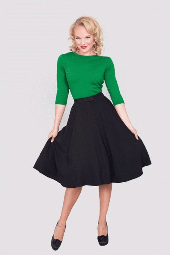 black circle skirts bettie page clothing and circle