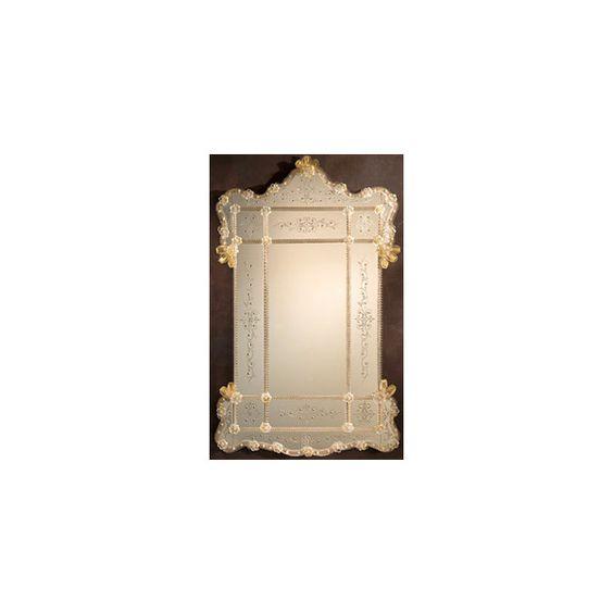 Venetian mirrors - Venetian glass mirrors from Murano found on Polyvore