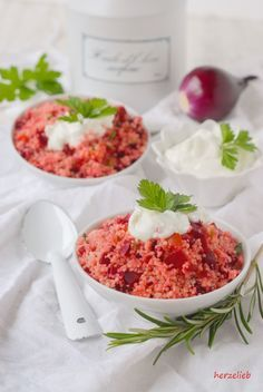 Rote Bete Couscous