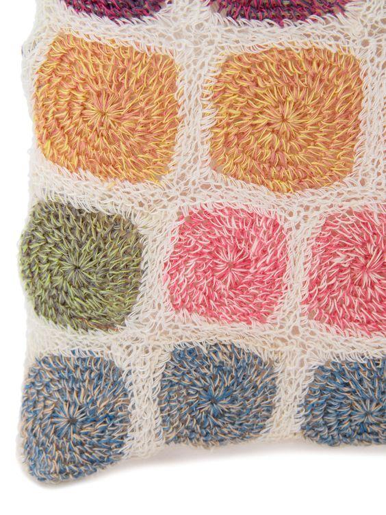 Sophie Digard crochet bag close-up