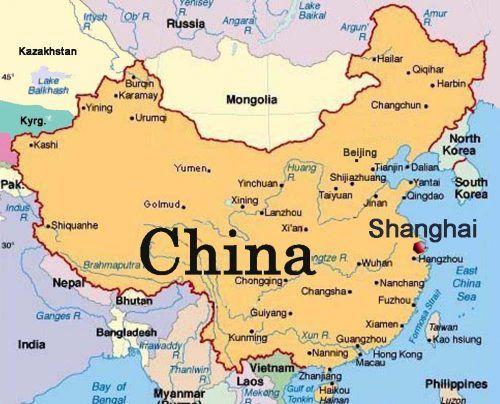 Mapa Da China Conheca As Regioes Da China China Map Map China