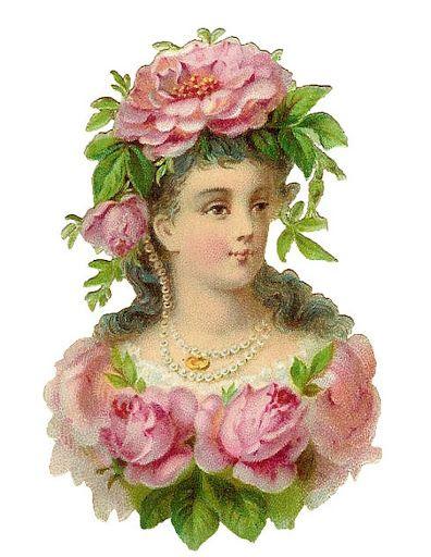 Rose lady: