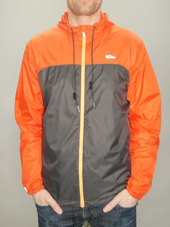 New Balance Windbreaker - Grey/Orange | Cagoule of the week