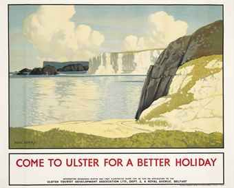 Come to Ulster for a better holiday - 1930 - (Paul Henry)