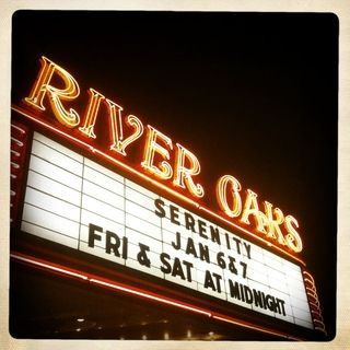Pass the Junior Mints! Indy movies at the River Oaks theatre.