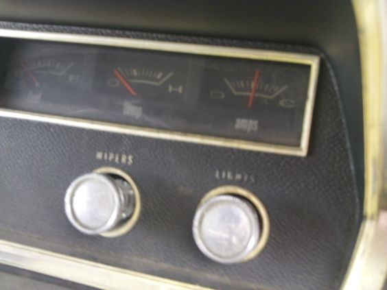 right side of dashboard