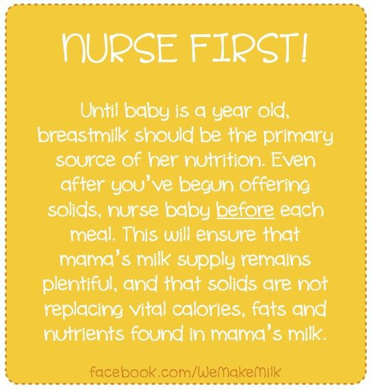 Breastmilk is the most important source of nutrition for first year. http://needhelpbreastfeeding.blogspot.com/