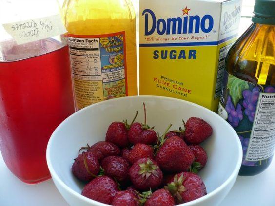 How to make a Fruit Shrub