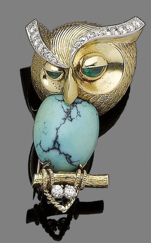 """Cartier owl says, """"What is this s**t?"""" I can't say I disagree. So Pierre? What is it?"""