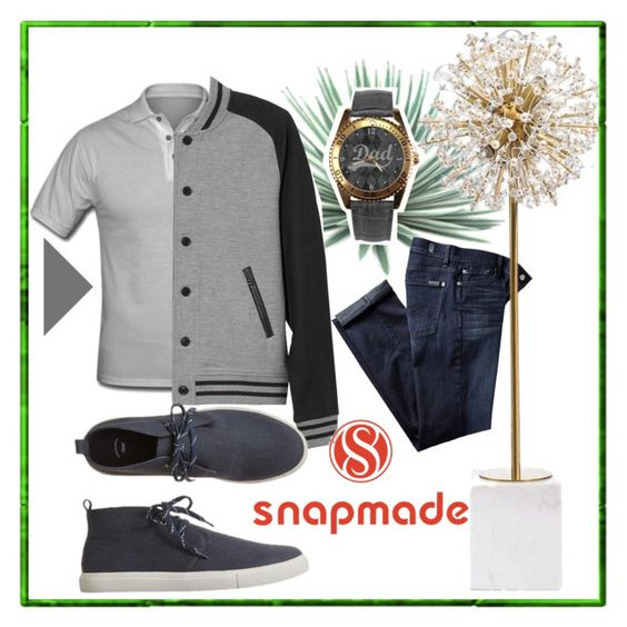 """""""snapmade #6"""" by samravelagic ❤ liked on Polyvore featuring Agave, 7 For All Mankind, Kate Spade, L.L.Bean, Gap, men's fashion and menswear"""