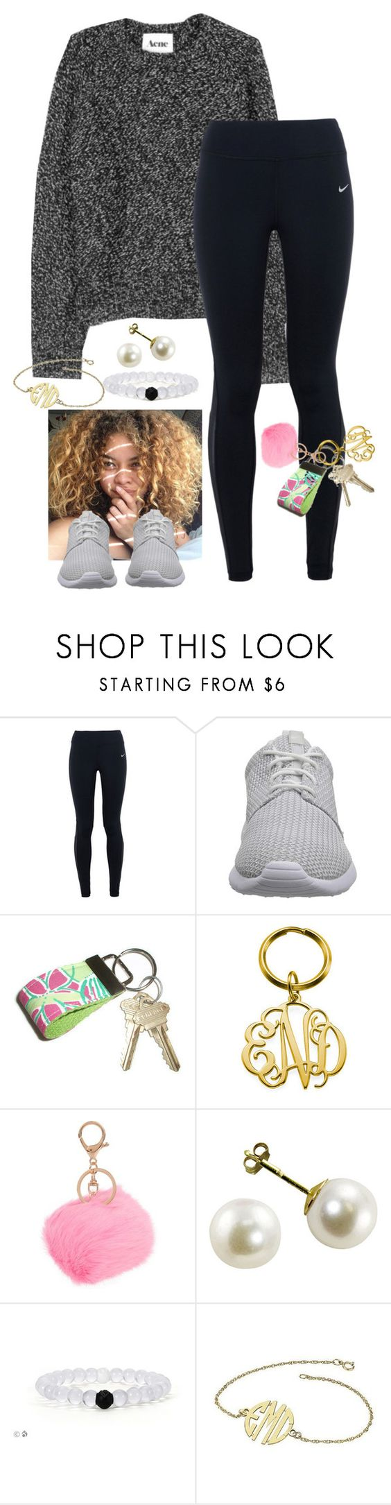 """Out and About"" by daydreammmm ❤ liked on Polyvore featuring NIKE, Lilly Pulitzer, women's clothing, women's fashion, women, female, woman, misses and juniors"