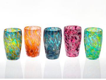 Fleur Tumbler  Orbix Hot Glass