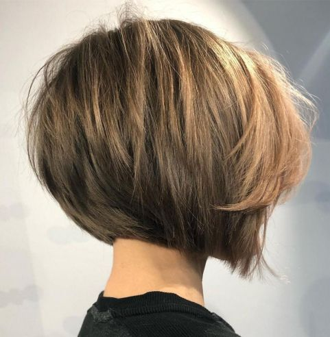 The Full Stack 50 Hottest Stacked Haircuts In 2020 Bob Hairstyles For Thick Concave Bob Hairstyles Thick Hair Styles