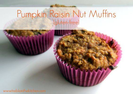 ... and Pumpkin Raisin Nut Muffins | Pumpkins, Muffins and The o'jays
